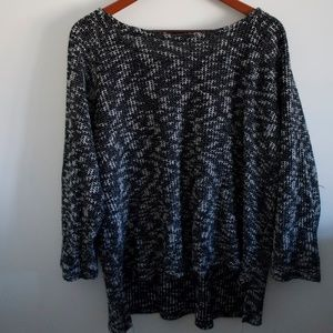 Alice & You Dark Blue/White Sweater. Size 24
